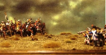 Bataille des Pyramides par M. S. Brunet