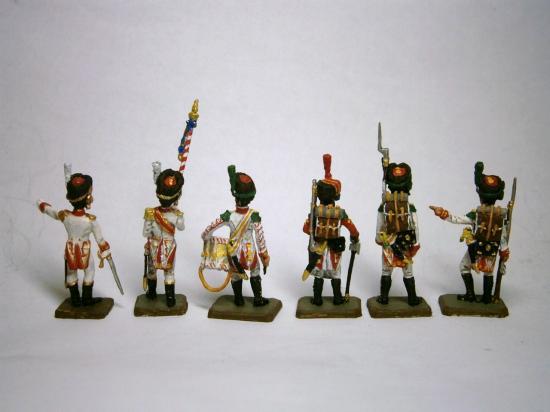 Vélites de la Garde Napolitaine Franznap au 1/72 collection Marc Claus