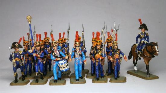 Marins de la Garde Impériale Franznap au 1/72
