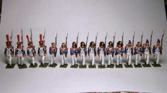 Infanterie Française 1809 - 1812