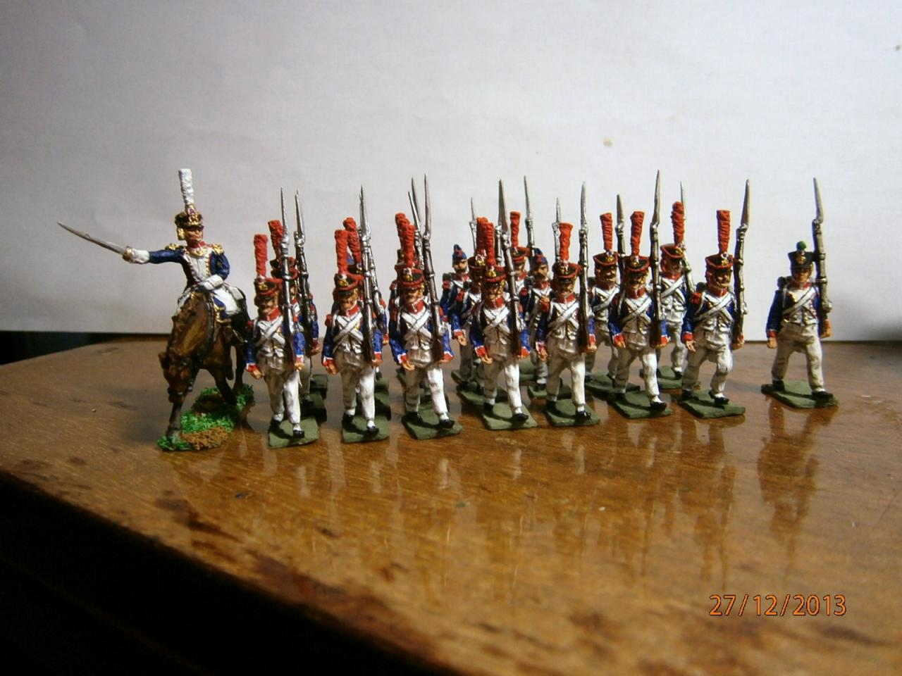 Infanterie Française 1809 à 1813 au 1/72 artminiaturen Collection