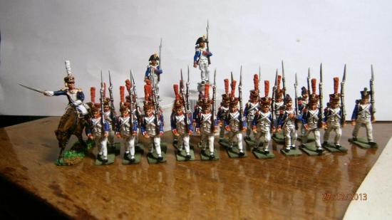 Infanterie Française 1809/13 au 1/72  Marc Claus