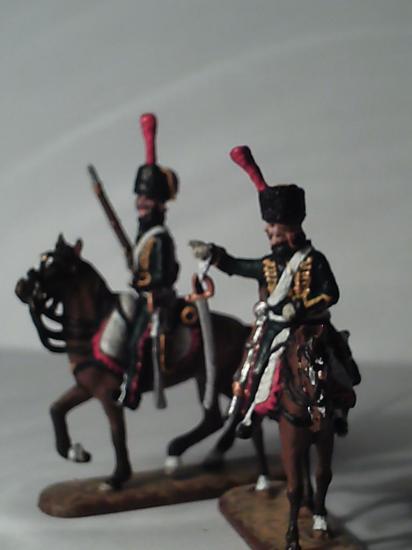 Le 7ème de Hussards par E. Chaillet au 1/72