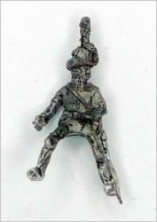 JS72/0639 1 soldat du Train autrichien (1813-1815), avec chapeau corse, la tête tournée vers la gauche-Österreichischer Trainsoldat (1813-1815), mit Korstenhut, den kopf nach links gedreht, 1 figur