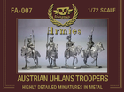 FA-007 :AUSTRIAN UHLANS TROOPER metal