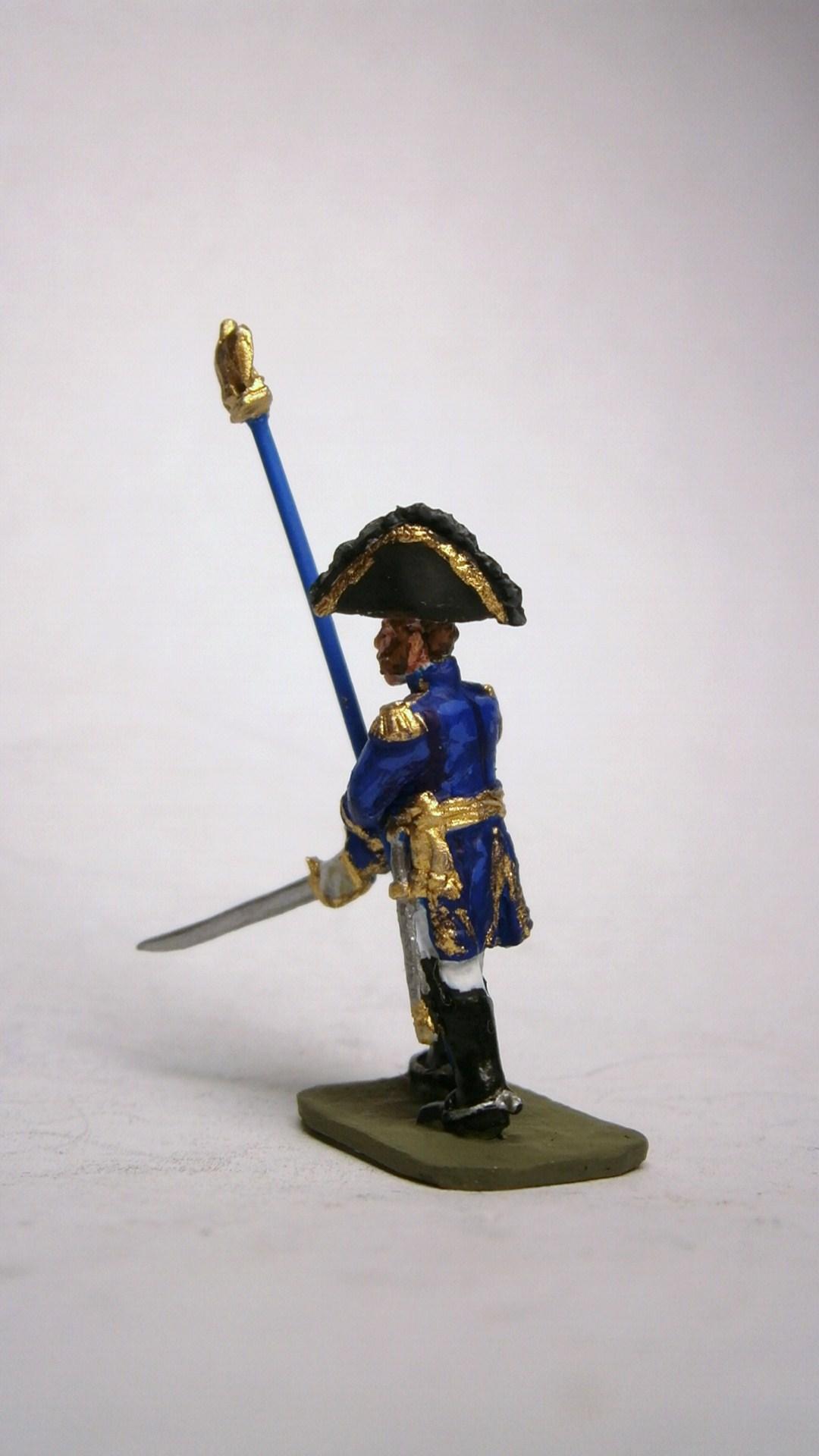 MC003 Général Cambronne défendant l'aigle /General verteidigt Adler (General Cambronne)