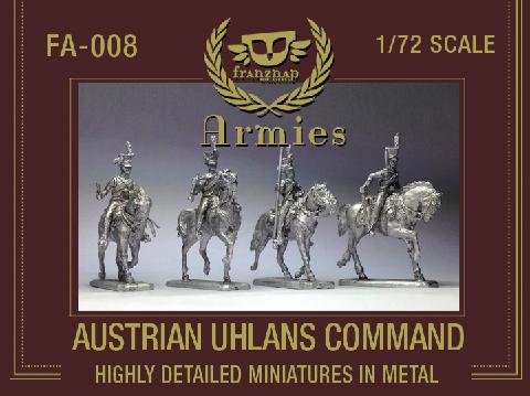 FA-008 : AUSTRIAN UHLANS COMMAND metal