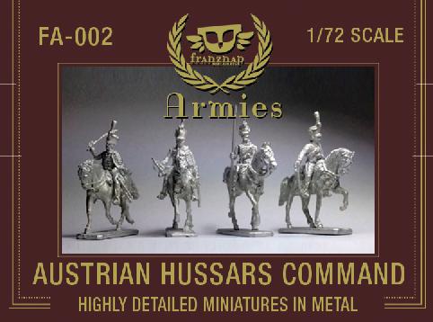 FA-002 : AUSTRIAN HUSSARS COMMAND metal
