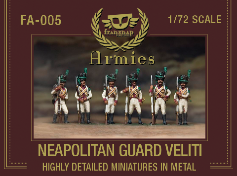 FA-005 : NEAPOLITAN GUARD VELITI  metal