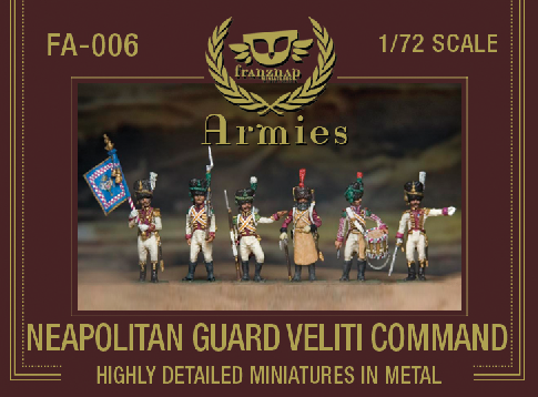 FA-006 : NEAPOLITAN GUARD VELITI COMMAND metal