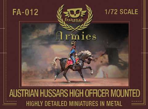 FA-012 : AUSTRIAN HUSSARS HIGH OFFICER metal